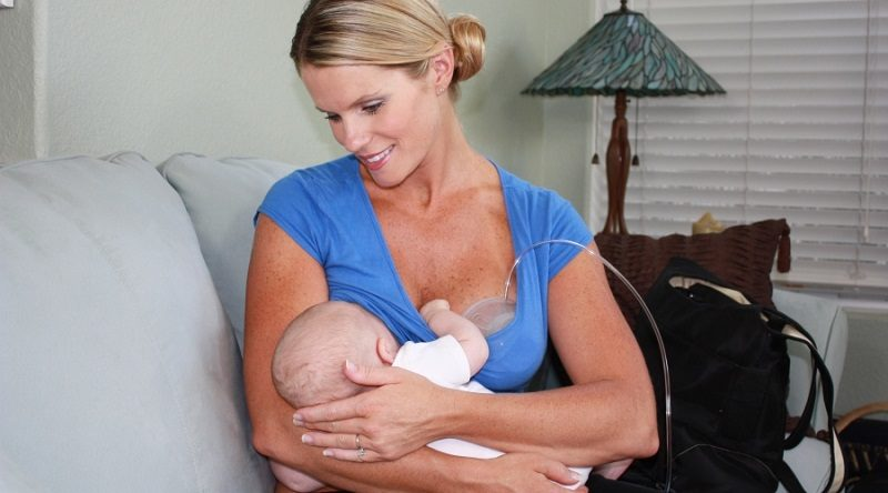 Breastfeed and Pump at the Same Time