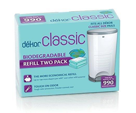 Dekor Classic diaper pail refills