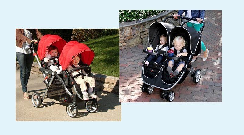 Tandem vs side by side stroller