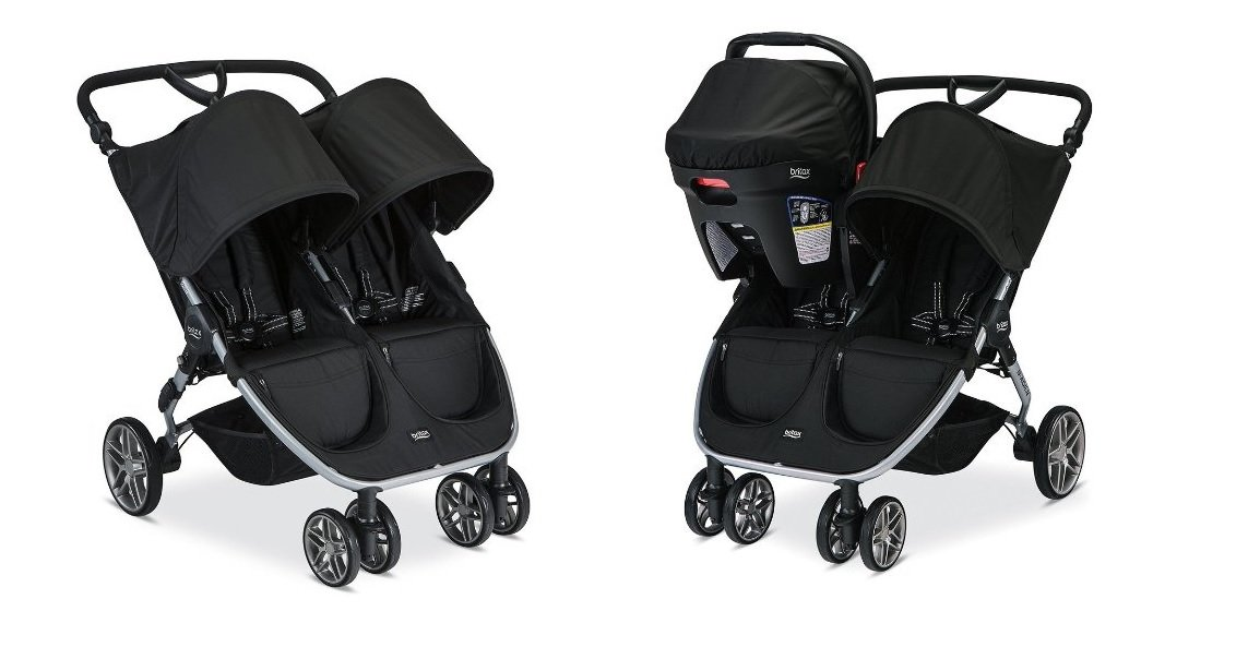 twin strollers with car seats